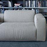 Sofà moderno delle sedi di amore del tessuto (F629-1-2)