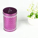Mejor venta de té Latas de estaño latas redondas Metal Box