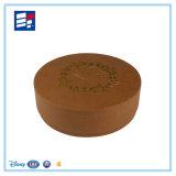 Caixa de presente feita sob encomenda do estilo do círculo de papel com impressão personalizada do logotipo