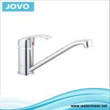 Jv 71207 del grifo de la cocina de la palanca del laminado de cromo solo