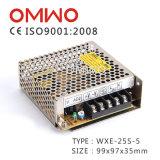 Bloc d'alimentation à sortie unique de commutation de Wxe-25s-5 25W 5V 5A