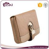 Бумажник женщин застежки -молнии конструкции оптового бумажника PU высокого качества специальный