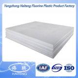 Tarjeta plástica dura blanca natural del Teflon PTFE