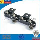 catena speciale del rullo 12b-3 con i grandi rulli del centro
