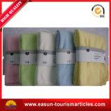 贅沢な子供の柔らかい綿の厚く編まれたアクリルのピクニック毛布