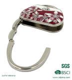 금속 둥근 핸드백 훅을%s 가진 아름다운 지갑 걸이