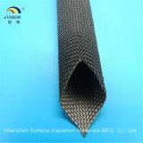 Draht-Isolierung des Hochtemperaturhitzebeständigen Fiberglas-500c umsponnenes elektrisches Sleeving