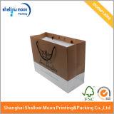 Soem-Drucken-Mattfertigstellungs-Luxuxpapierbeutel-Einkaufen-Beutel