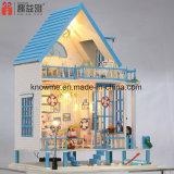 Kids Miniature Wooden DIY Doll House
