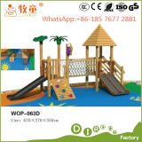 오락 (WOP-060B)를 위한 목제 옥외 운동장 장비