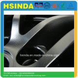 Rivestimento opaco nero della polvere della vernice dell'automobile di rivestimento del raso di Ral 9005