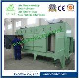 Colector de polvo vertical del cartucho para el producto de limpieza de discos industrial del polvo