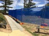 يغلفن أستراليا أمن يسيّج سياج مؤقّت ([إكسمّ-170623])