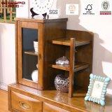 Suporte de TV em madeira maciça de laca amarela chinesa / Gabinete de TV (GSP13-011)