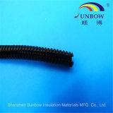 Sunbow flexibler pp. PA-PET Plastikaufgeteiltes gewölbtes Rohr-Draht-Rohr