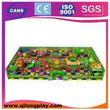 Populäres Produkt-Innen- oder im Freien preiswerter Spielplatz-Mattenstoff