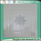 Azulejos de techo de aluminio artístico y elegante