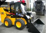 Компактный тип большой затяжелитель кормила скида с всем управлением рулем привода и скида колеса