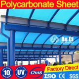 Hoja barata del policarbonato para el material para techos