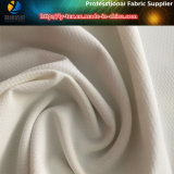 Tela blanca del telar jacquar del Fishnet, tela de la ropa del Spandex del poliester (R0143)