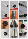 La aleación redonda del tubo 6063 sacó el perfil de aluminio con el polvo cubierto anodizado