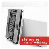 Qualität kundenspezifische Größen-prägenzahl Belüftung-magnetischer Streifen-Plastikkarte
