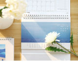 Печатание календара стола OEM, календар Gits, выдвиженческий календар