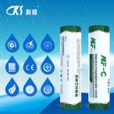 Non membrane imperméable à l'eau auto-adhésive de polymère élevé d'asphalte