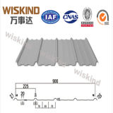 Única chapa de aço ondulada de PPGI para o metal da telhadura com ISO9001