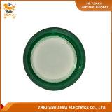 IP40 보호 수준 녹색 LED 누름단추식 전쟁 스위치 Pbs-003