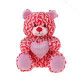 Brinquedo macio do luxuoso do urso da peluche para o presente do Valentim