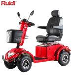 Scooter électrique de mobilité de scooter de cabine de présidence de roue de pouvoir de scooter