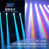 8 * 8W RGBW 4 en 1 Rocker Marquee LED Beam Bar pour DJ Stage Lighting Effect