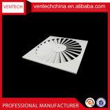 Difusor de la ranura del cuadrado de la hoja del hierro de la ventilación del aire acondicionado