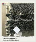 Maille d'écran de pièces de rechange de broyeur faite d'acier à haut carbone