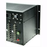 Передатчик и приемник видео- волокна 64 каналов оптически