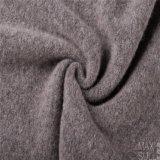 Het Haar van Yark en de Stof van de Wol met Gebreid voor de Winter in Grijs