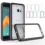 Geval Van uitstekende kwaliteit van de Telefoon TPU van de Leveranciers van China het Duidelijke Acryl Mobiele voor HTC