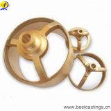 高品質のめっきされるニッケルが付いている真鍮の鍛造材の部品-