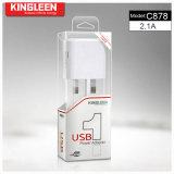 Kingleen C878 escolhe a produção original da fábrica do carregador de bateria 5V2.1A do USB