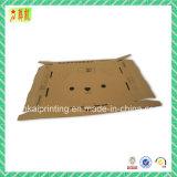 Caixa de papel ondulada de dobramento para a embalagem