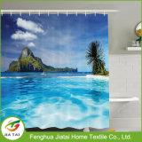 Tenda di acquazzone personalizzata ecologica della stanza da bagno del bagno del poliestere di marchio per i capretti