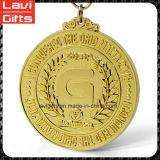 金の挑戦スポーツの金属メダル