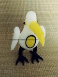 Tazón de fuente de cristal del pájaro para los accesorios masculinos y femeninos de cristal del tubo