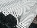 Le carbone a soudé la pipe en acier/pipe en acier galvanisée/section creuse