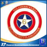 Монетка сувенира эмали США воинская мягкая с гравировкой лазера (Ele-C054)