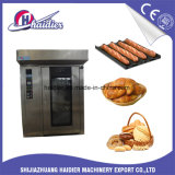Four rotatoire de crémaillère de vente en gros de machines de biscuit de gâteau de pain pour le traitement au four
