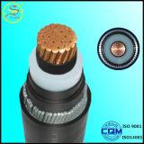 Cu 2017/Al/XLPE/câble d'alimentation blindé isolé par PVC de fil d'acier de la SWA 0.6/1kv