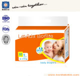Baumwollewegwerf-PET Film-Baby-Windel 100% mit pp.-Band