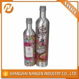 Bottiglie di alluminio del liquore per la vodka del whisky del brandy